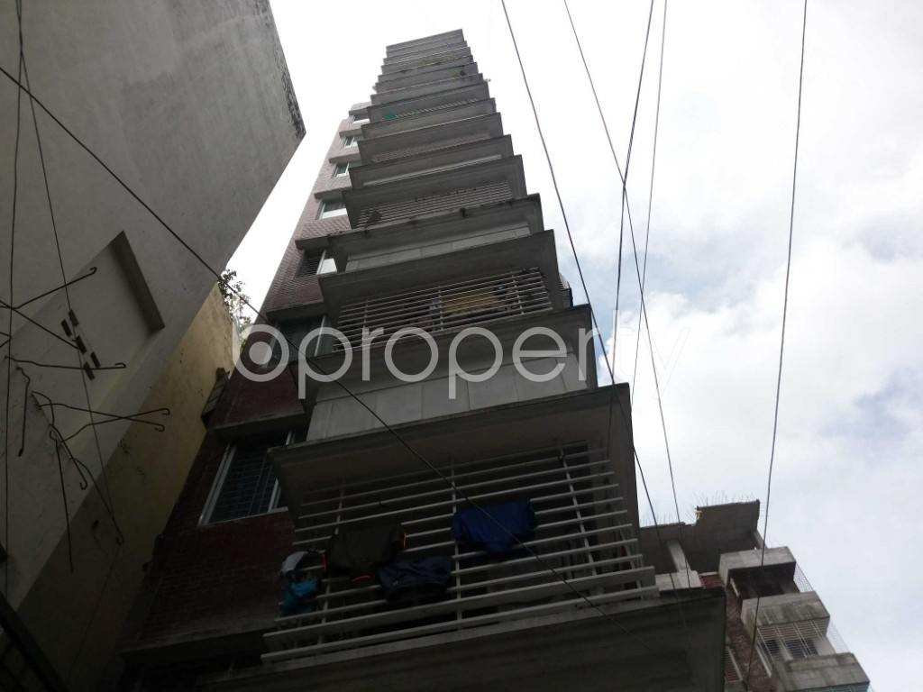 Front view - 3 Bed Apartment for Sale in Mirpur, Dhaka - 1921084