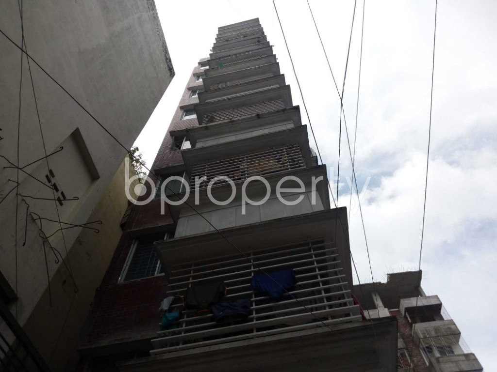 Front view - 3 Bed Apartment for Sale in Mirpur, Dhaka - 1921079