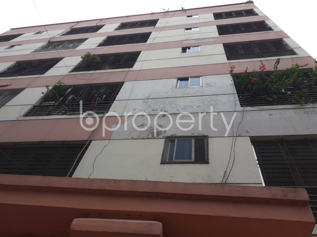 Front view - 3 Bed Apartment for Sale in Gulshan, Dhaka - 1921564