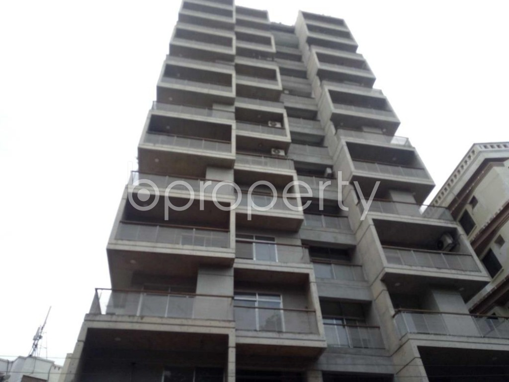 Front view - 3 Bed Apartment for Sale in Banani, Dhaka - 1921706
