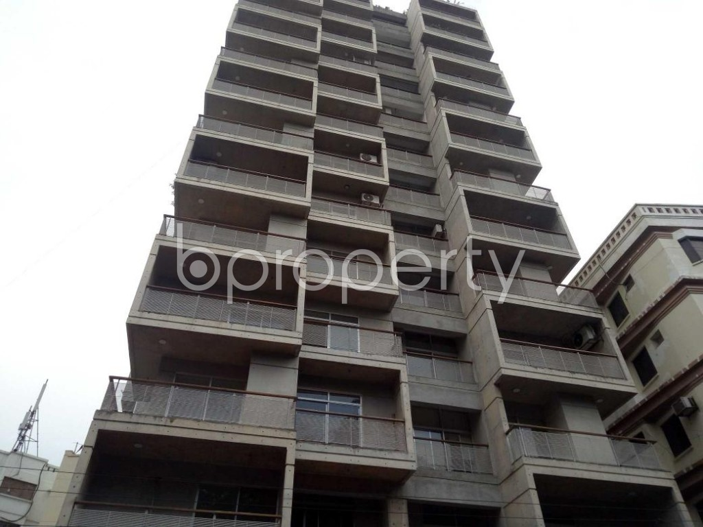 Front view - 3 Bed Apartment for Sale in Banani, Dhaka - 1921707