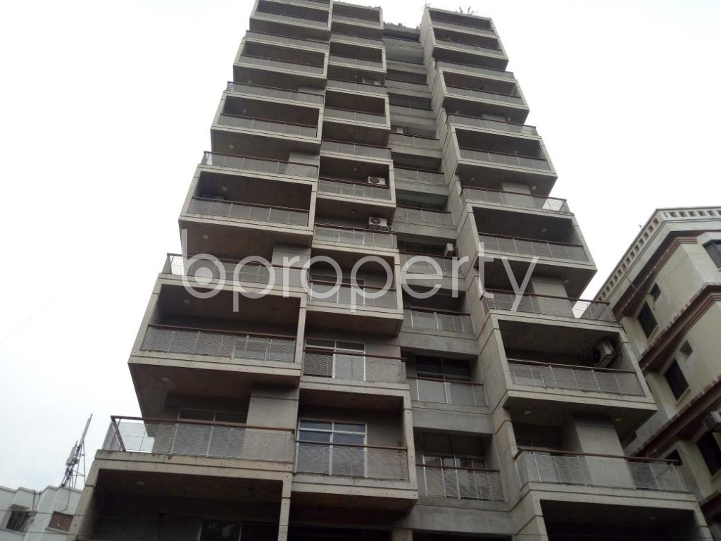 Front view - 3 Bed Apartment for Sale in Banani, Dhaka - 1921708