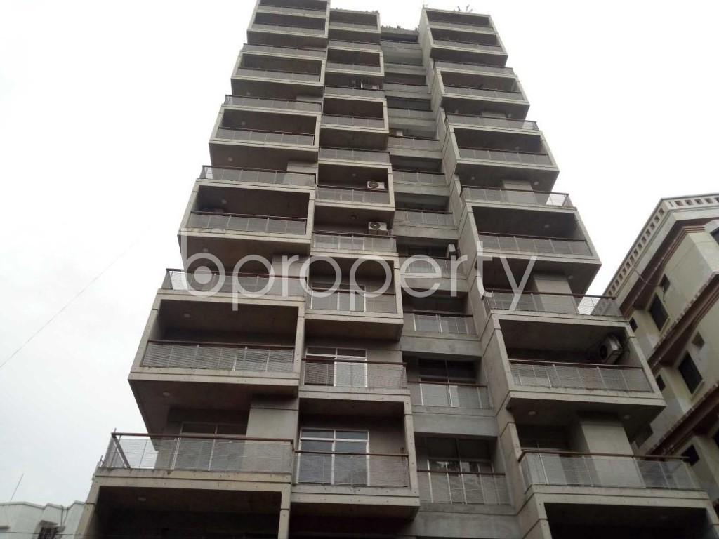 Front view - 3 Bed Apartment for Sale in Banani, Dhaka - 1921709