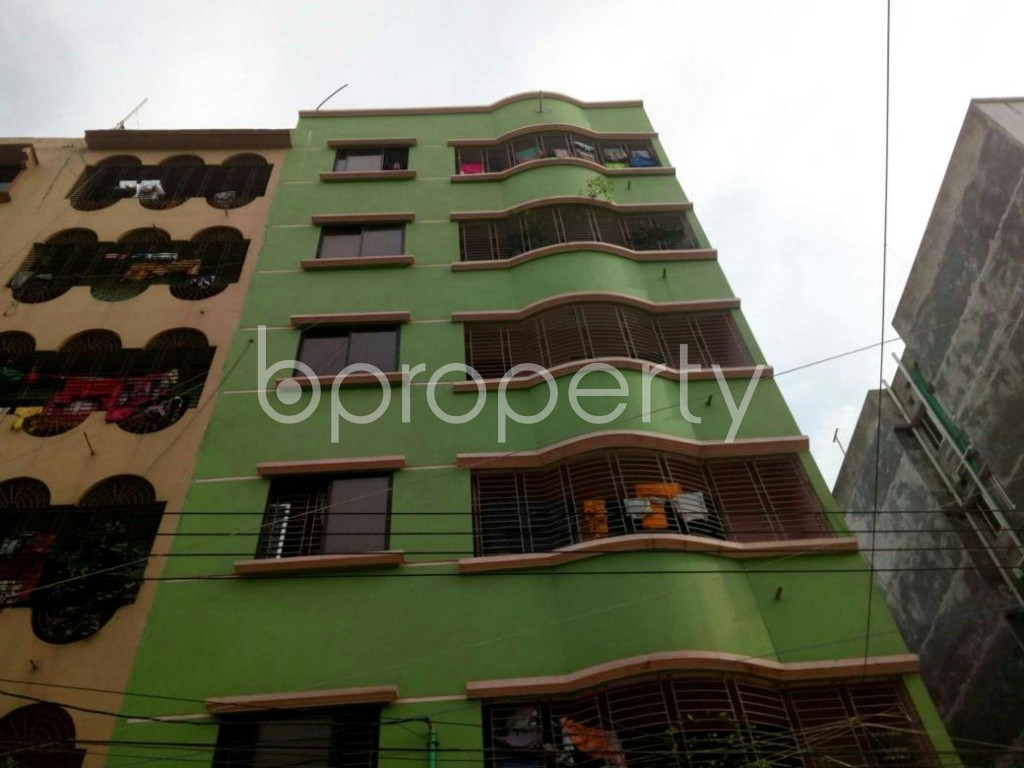 Front view - 4 Bed Apartment for Sale in Mirpur, Dhaka - 1921639