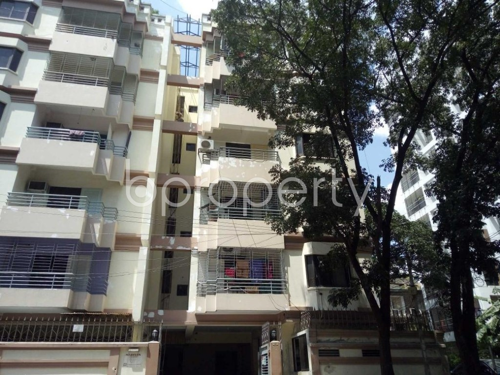 Front view - 3 Bed Apartment for Sale in Banani, Dhaka - 1922302