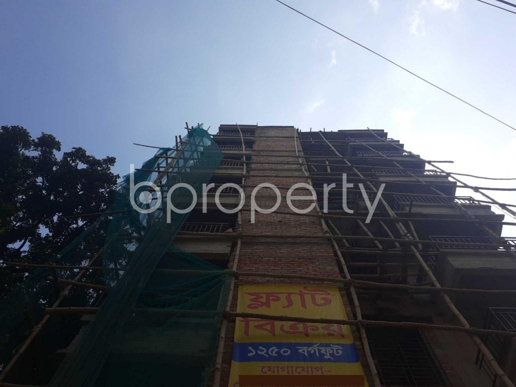 Front view - 3 Bed Apartment for Sale in Bashabo, Dhaka - 1922334