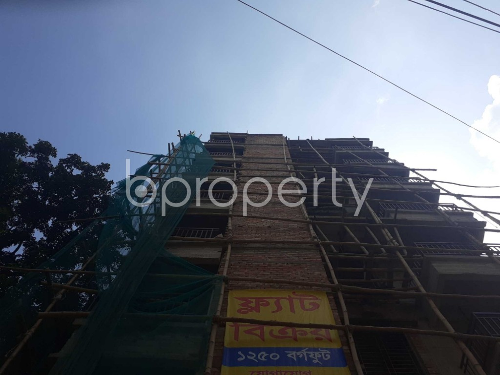 Front view - 3 Bed Apartment for Sale in Bashabo, Dhaka - 1922336