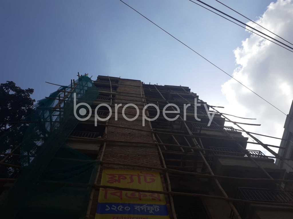 Front view - 3 Bed Apartment for Sale in Bashabo, Dhaka - 1922337