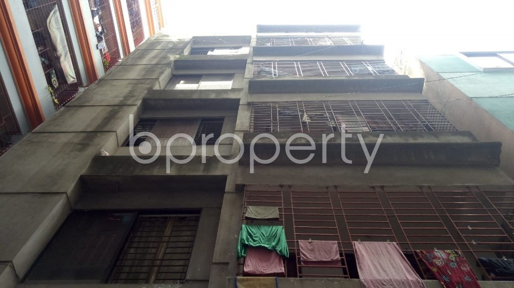 Front view - 4 Bed Apartment for Sale in Maghbazar, Dhaka - 1922472