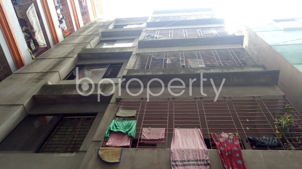 Front view - 2 Bed Apartment for Sale in Maghbazar, Dhaka - 1922473