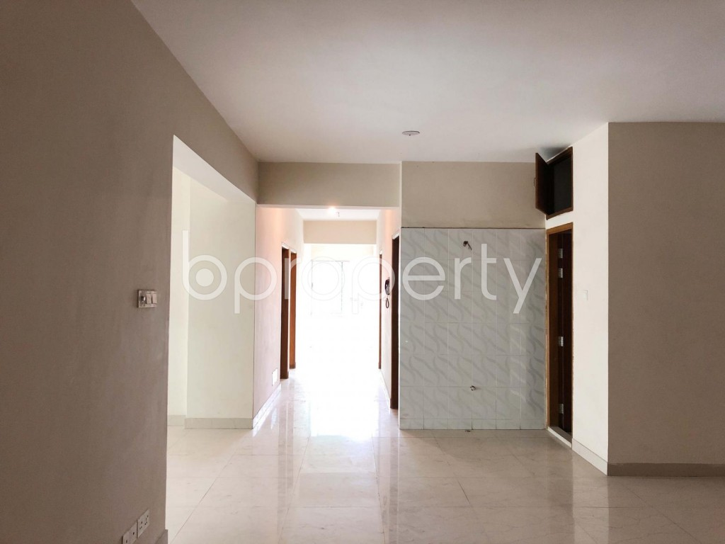 Empty Room - 3 Bed Apartment for Sale in Kathalbagan, Dhaka - 1914987