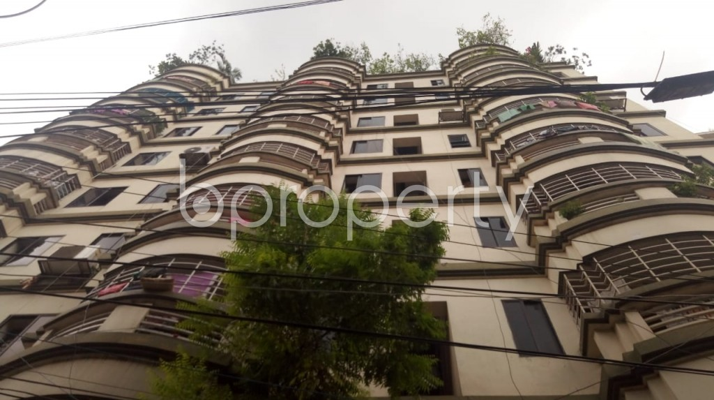Front view - 3 Bed Apartment for Sale in Maghbazar, Dhaka - 1922653