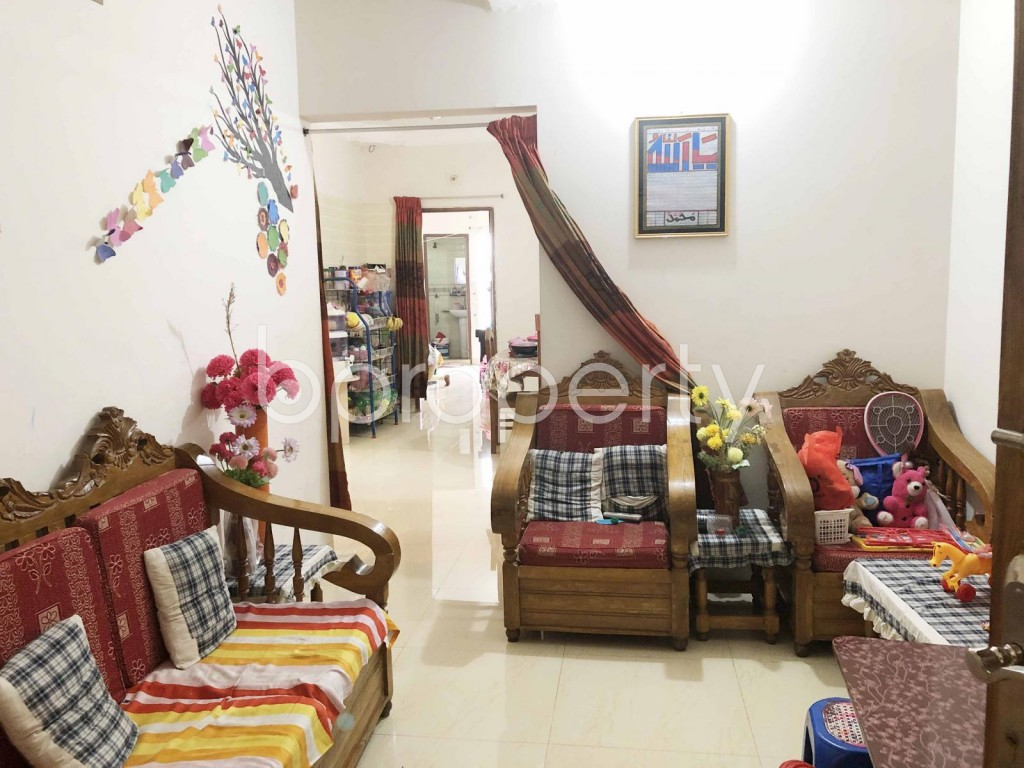 Empty Room - 2 Bed Apartment for Sale in Badda, Dhaka - 1919905
