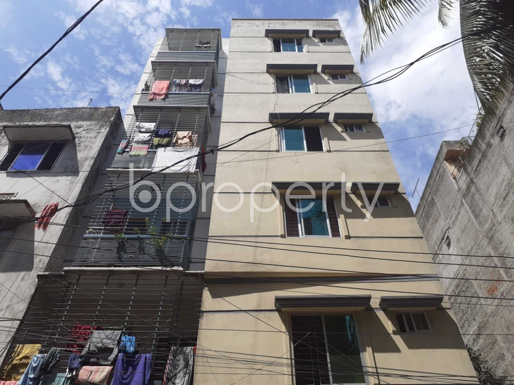 Front view - 2 Bed Apartment for Sale in Mohammadpur, Dhaka - 1923115