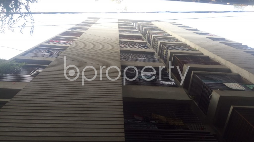 Front view - 3 Bed Apartment for Sale in Maghbazar, Dhaka - 1923137