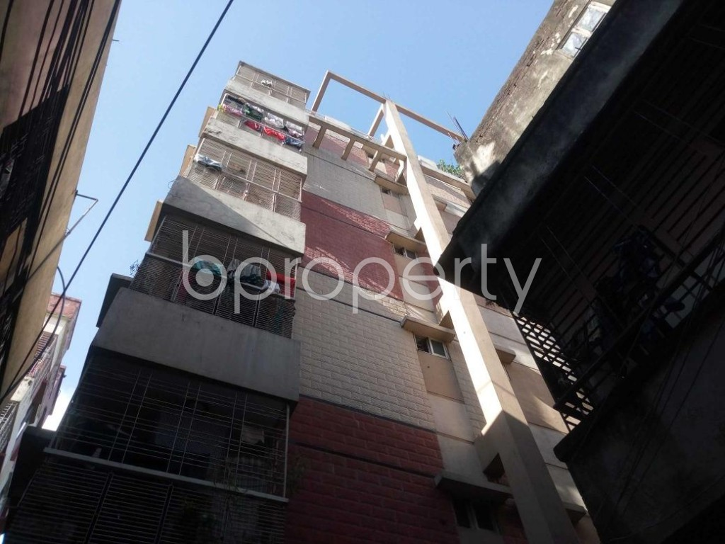 Front view - 3 Bed Apartment for Sale in Hatirpool, Dhaka - 1923202