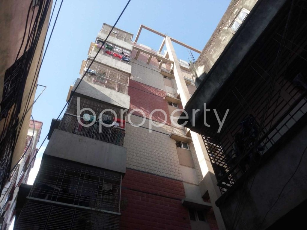 Front view - 3 Bed Apartment for Sale in Hatirpool, Dhaka - 1923203
