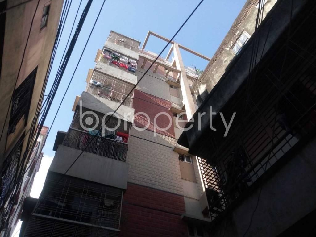 Front view - 3 Bed Apartment for Sale in Hatirpool, Dhaka - 1923204
