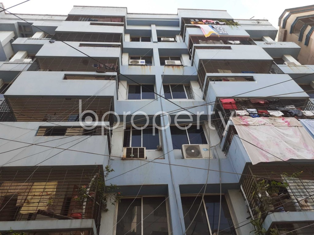 Front view - 2 Bed Apartment for Sale in Dhanmondi, Dhaka - 1923021