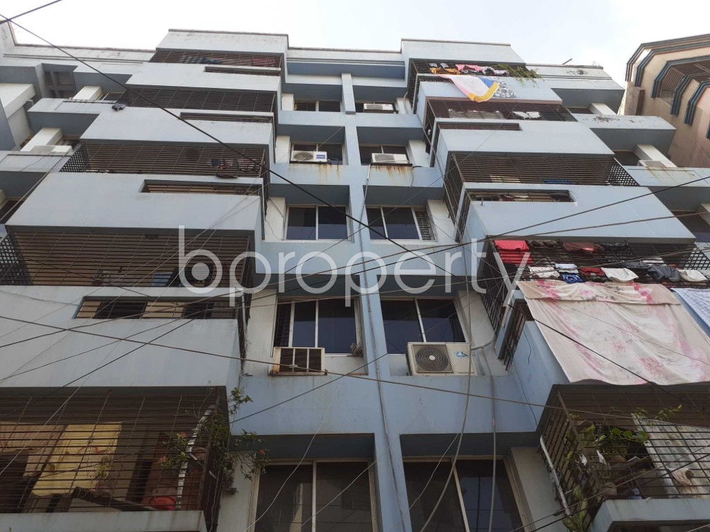 Front view - 3 Bed Apartment for Sale in Dhanmondi, Dhaka - 1923425
