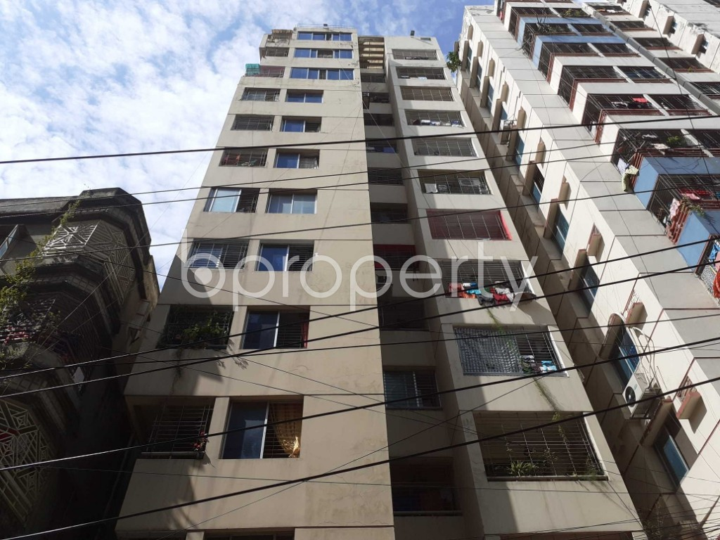 Front view - 3 Bed Apartment for Sale in Dhanmondi, Dhaka - 1923429