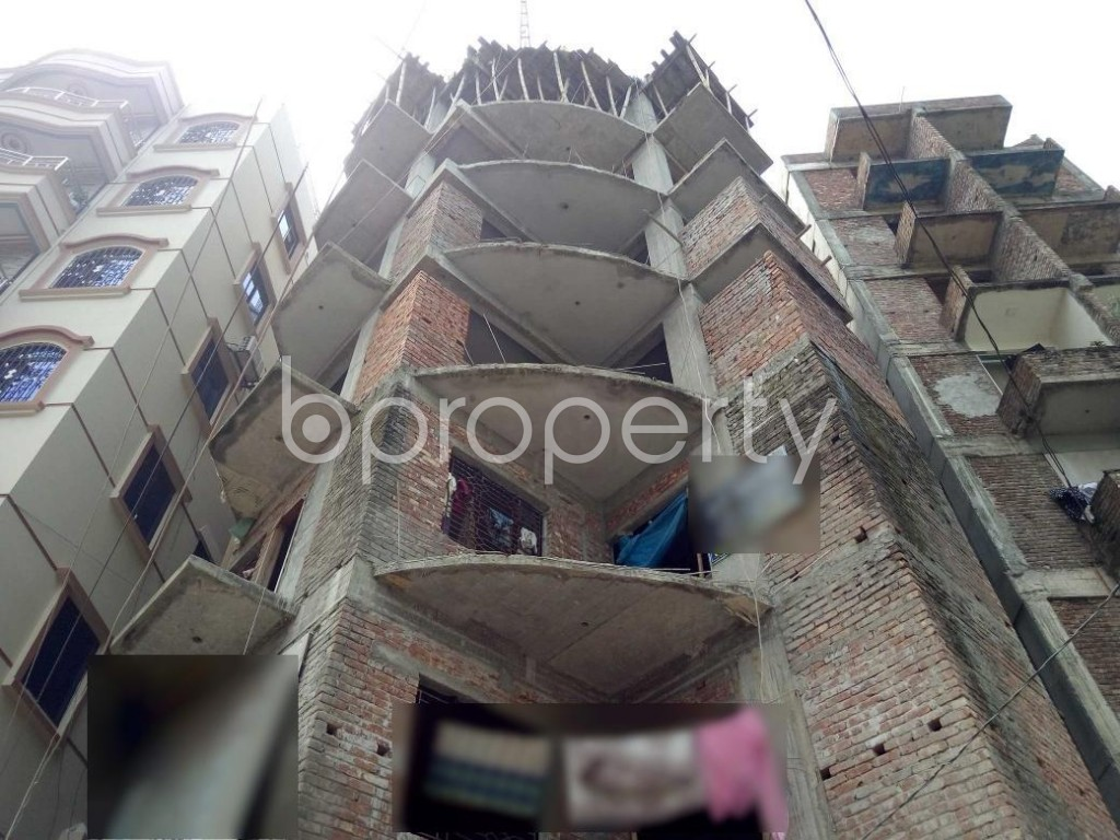 Front view - 3 Bed Apartment for Sale in Turag, Dhaka - 1923756