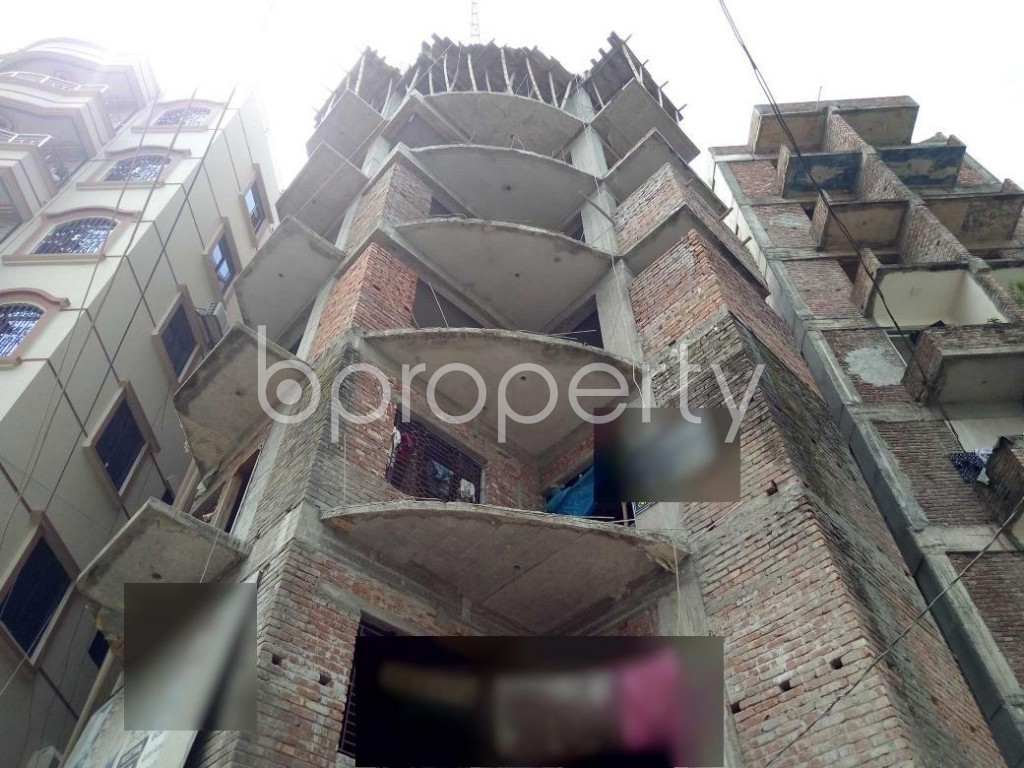 Front view - 3 Bed Apartment for Sale in Turag, Dhaka - 1923757