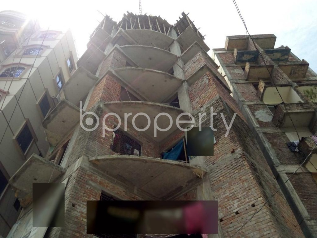 Front view - 3 Bed Apartment for Sale in Turag, Dhaka - 1923758