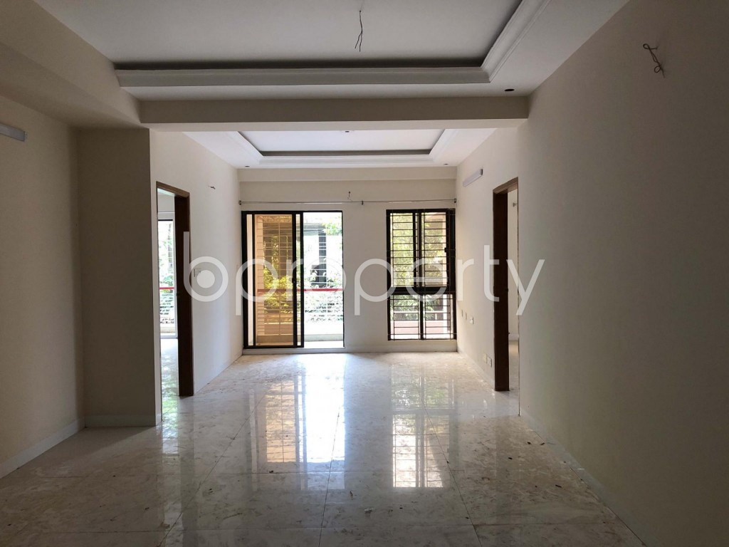 Empty Room - 3 Bed Apartment to Rent in Bashundhara R-A, Dhaka - 1920139