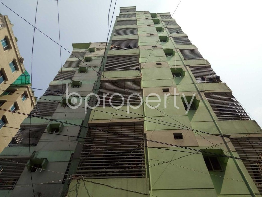 Front view - 3 Bed Apartment for Sale in Tejgaon, Dhaka - 1923964
