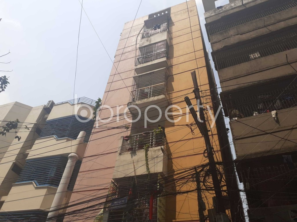 Front view - 2 Bed Apartment for Sale in Mohammadpur, Dhaka - 1924016