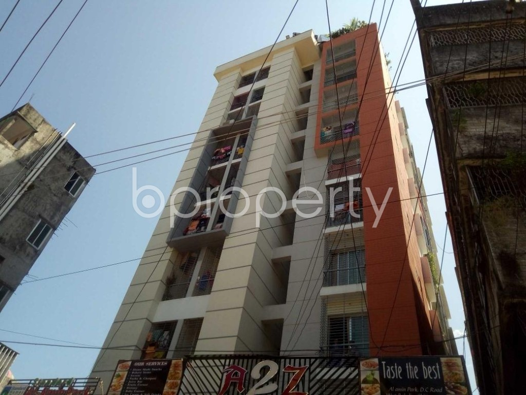 Front view - 3 Bed Apartment for Sale in Bakalia, Chattogram - 1924144