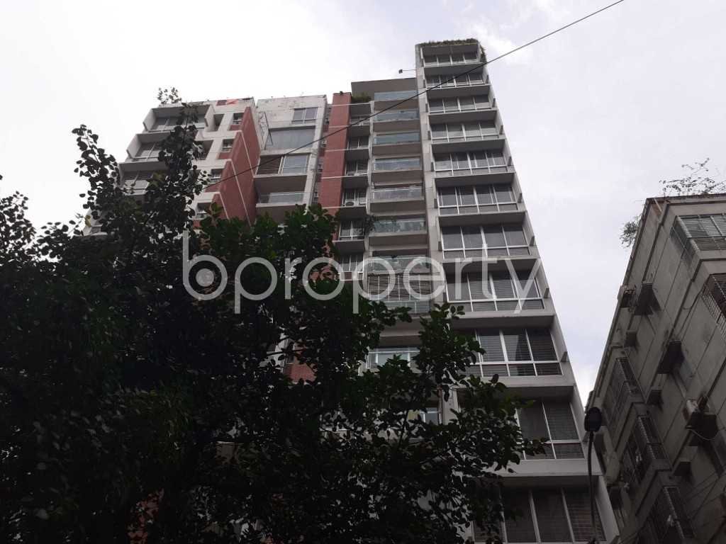Front view - 3 Bed Apartment for Sale in Dhanmondi, Dhaka - 1924833
