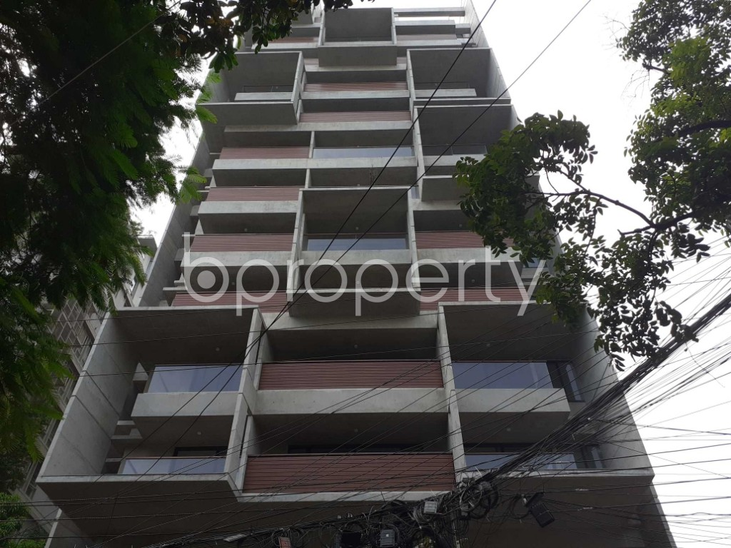 Front view - 4 Bed Apartment for Sale in Gulshan, Dhaka - 1924671