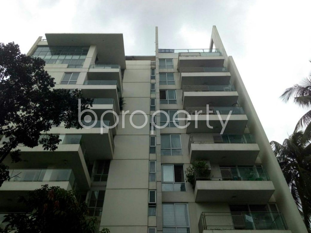 Front view - 4 Bed Apartment for Sale in Banani, Dhaka - 1925179