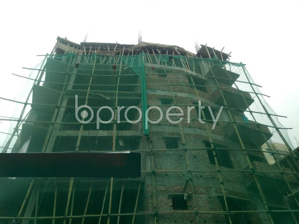 Outside view - 3 Bed Apartment for Sale in Maghbazar, Dhaka - 1925279