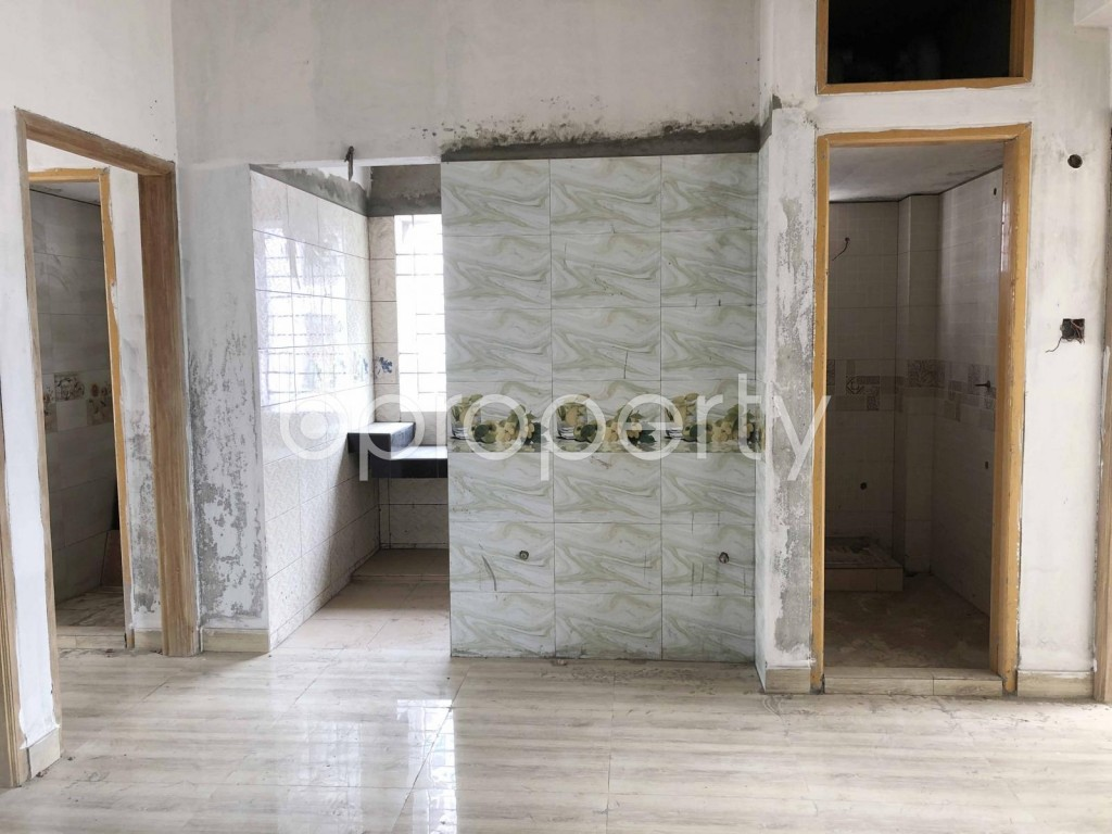 Empty Room - 3 Bed Apartment for Sale in Khilgaon, Dhaka - 1919975