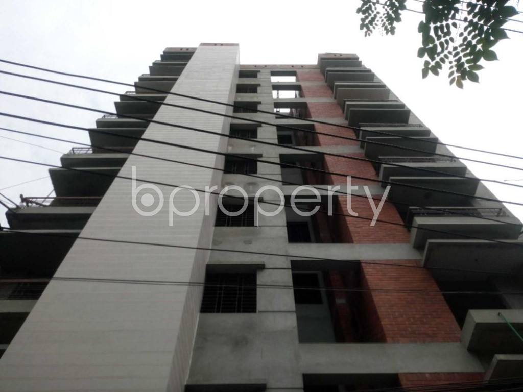 Front view - 3 Bed Apartment for Sale in Hatirpool, Dhaka - 1925522