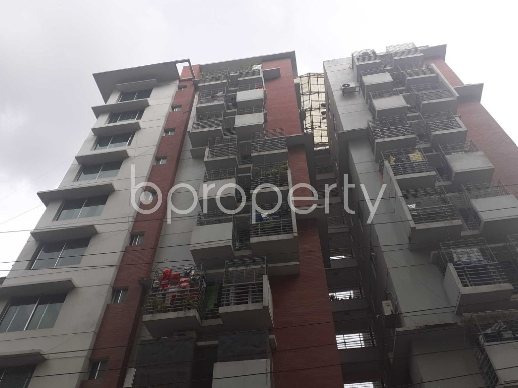 Front view - 3 Bed Apartment for Sale in Mohammadpur, Dhaka - 1925415