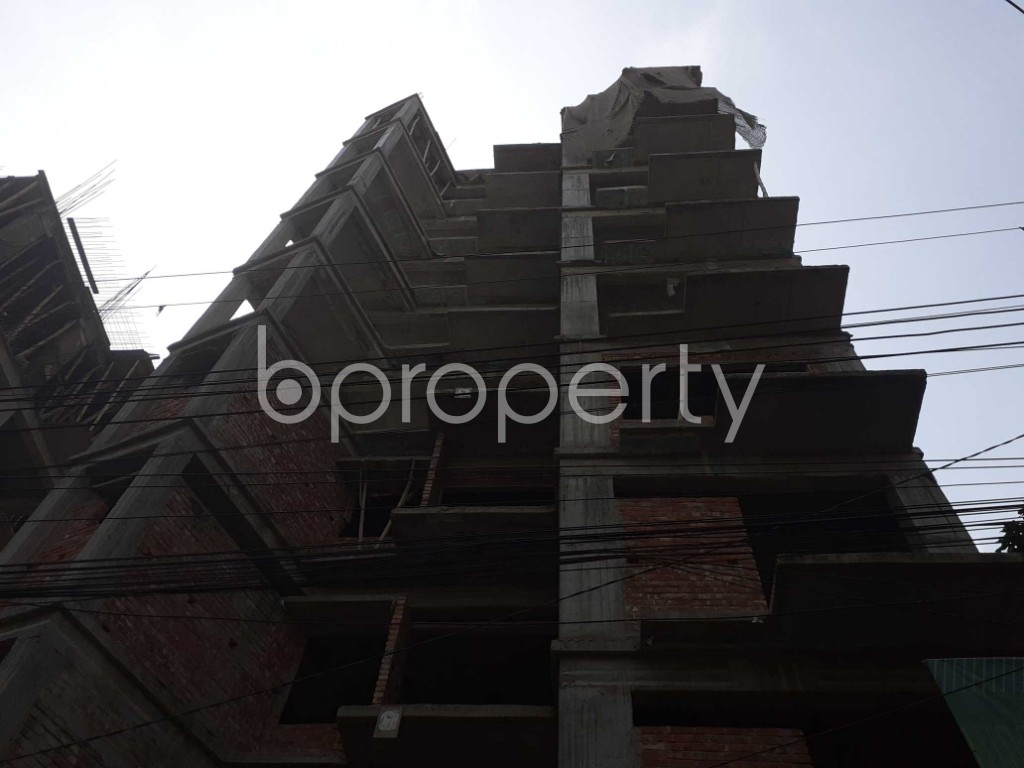 Front view - 3 Bed Apartment for Sale in Bashundhara R-A, Dhaka - 1925813