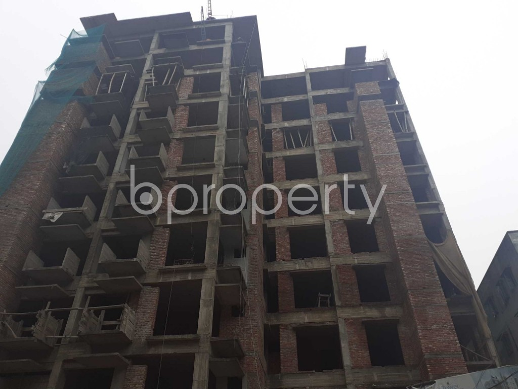 Front view - 3 Bed Apartment for Sale in Mohammadpur, Dhaka - 1925913