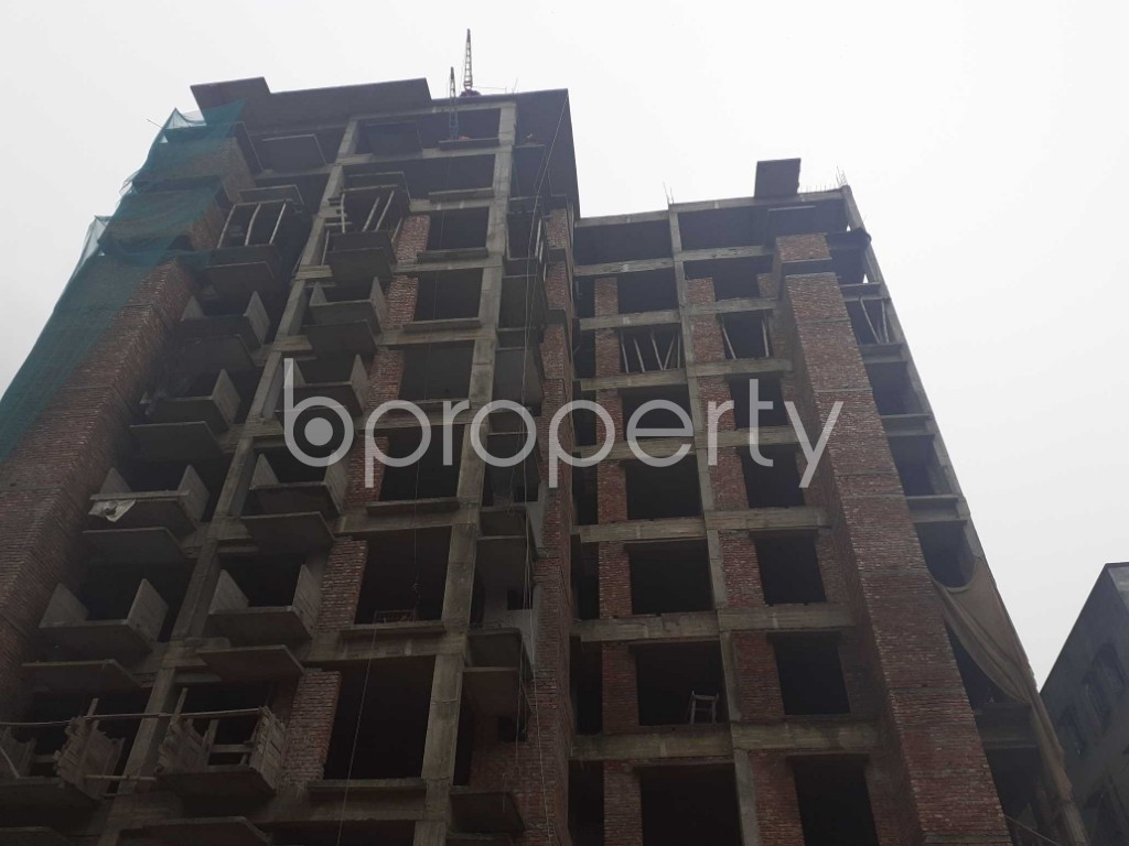 Front view - 3 Bed Apartment for Sale in Mohammadpur, Dhaka - 1925914