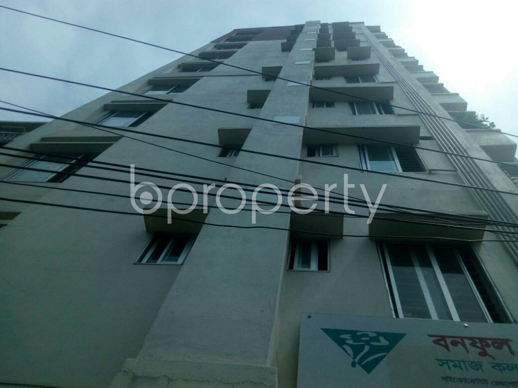 Outside view - 3 Bed Apartment for Sale in 7 No. West Sholoshohor Ward, Chattogram - 1925989