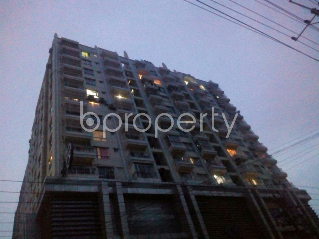 Front view - 3 Bed Apartment for Sale in Khulshi, Chattogram - 1926118