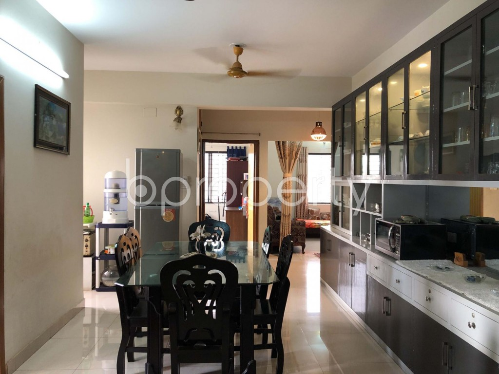 Dining area - 3 Bed Apartment for Sale in Dhanmondi, Dhaka - 1921362
