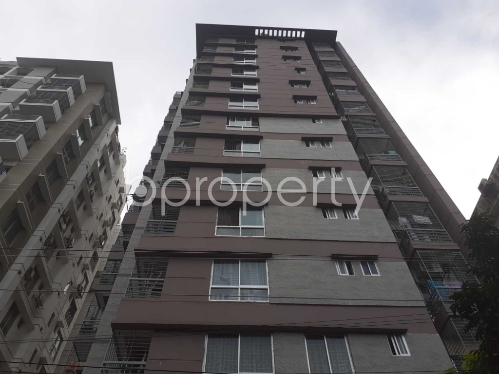 Front view - 3 Bed Apartment for Sale in Mohammadpur, Dhaka - 1926547