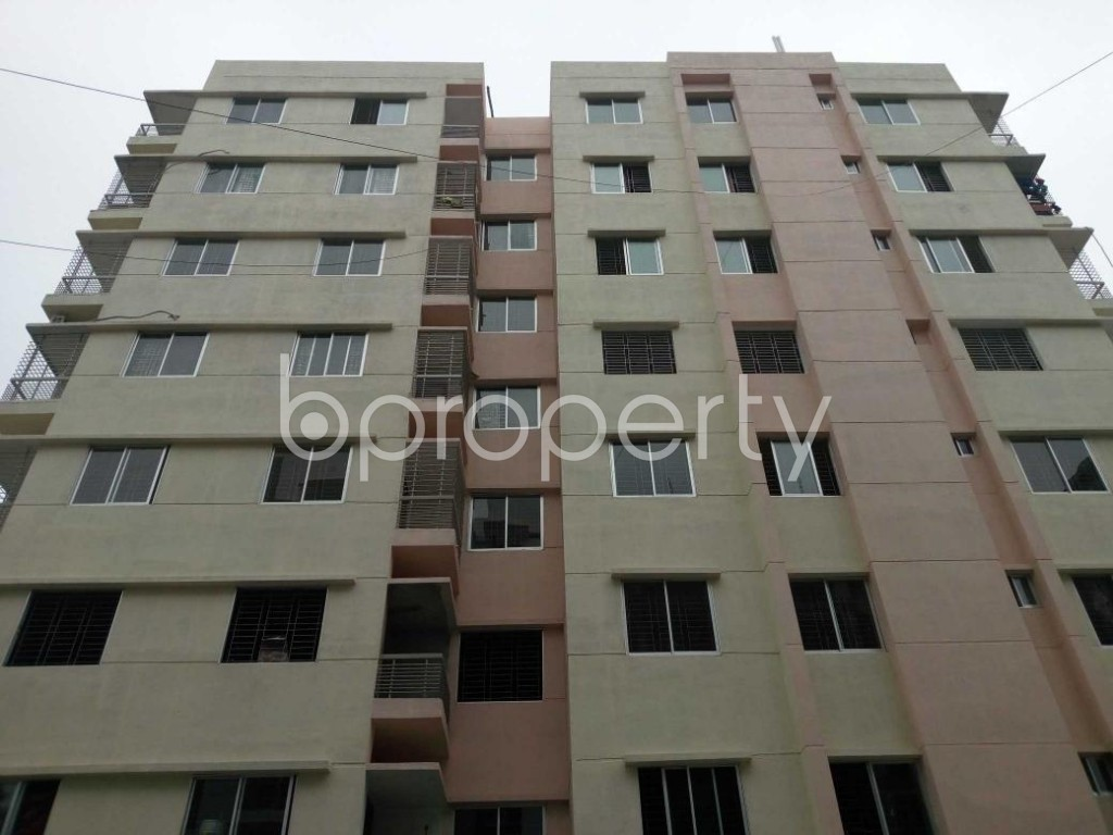 Front view - 3 Bed Apartment for Sale in Aftab Nagar, Dhaka - 1926635