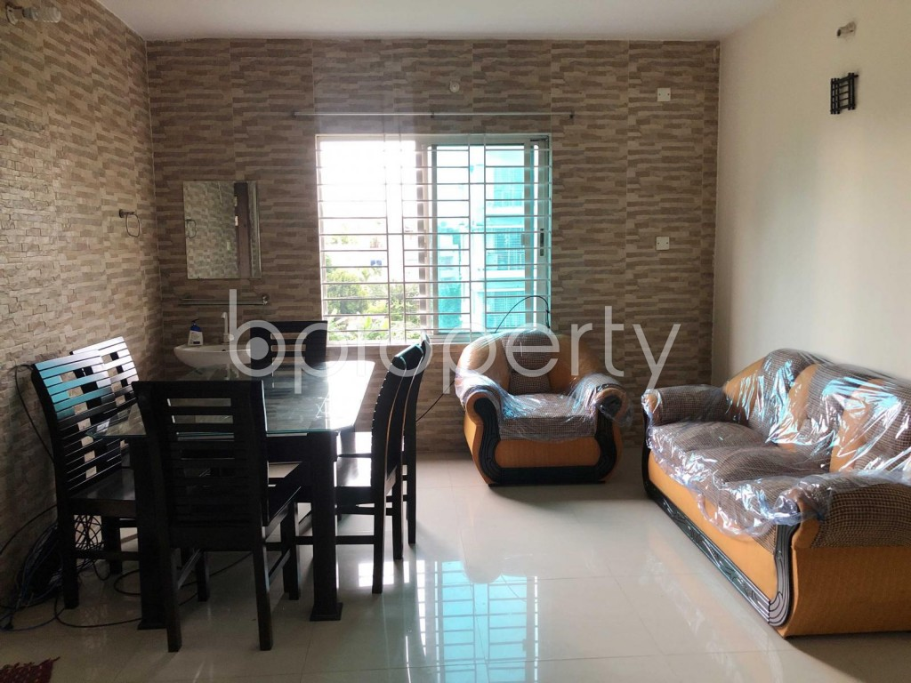 Dining area - 3 Bed Apartment for Sale in Uttara, Dhaka - 1901615