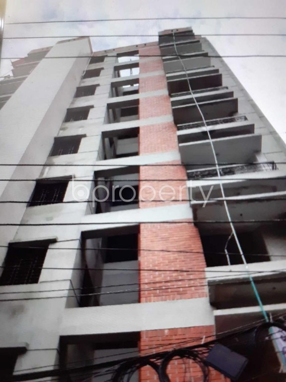 Outside view - 3 Bed Apartment for Sale in Hatirpool, Dhaka - 1927309