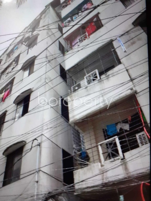 Outside view - 3 Bed Apartment for Sale in Hatirpool, Dhaka - 1927311